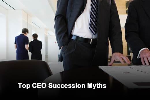 Seven Myths of CEO Succession - slide 1