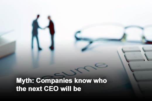 Seven Myths of CEO Succession - slide 2