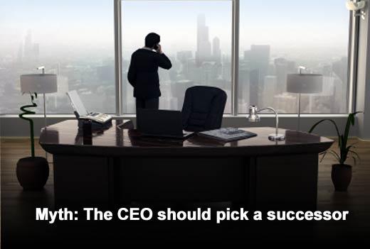 Seven Myths of CEO Succession - slide 4