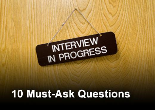 10 Interview Questions Job Seekers Must Ask - slide 1