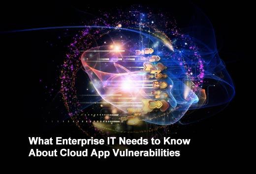 Ten Vulnerabilities that Impact Enterprise Cloud Apps - slide 1