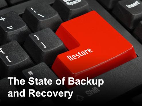 Reopening the Backup Window - slide 1