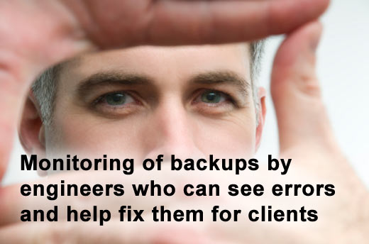 Eight Features to Expect from Your Off-Site Data Backup Vendor - slide 5