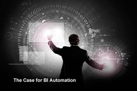 Automating the Intelligence of Business Intelligence - slide 1