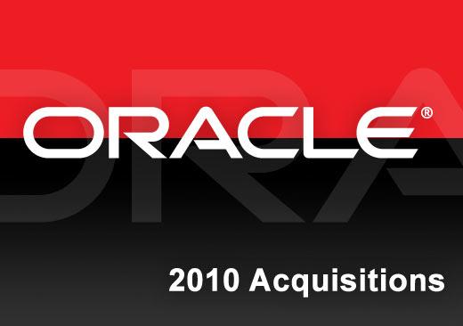 Smart Spending: Oracle's 2010 Acquisitions - slide 1