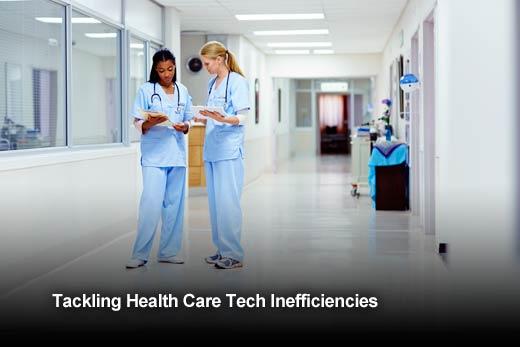 6 Ways IT Is Contributing to Health Care Inefficiencies - slide 1