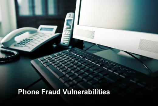 Top Five Vulnerabilities that Enable Phone Fraud - slide 1