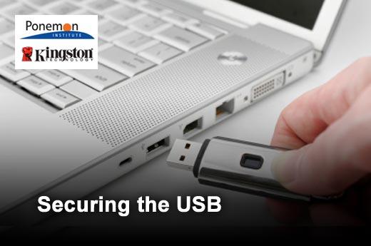 Ten USB Drive Security Best Practices - slide 1