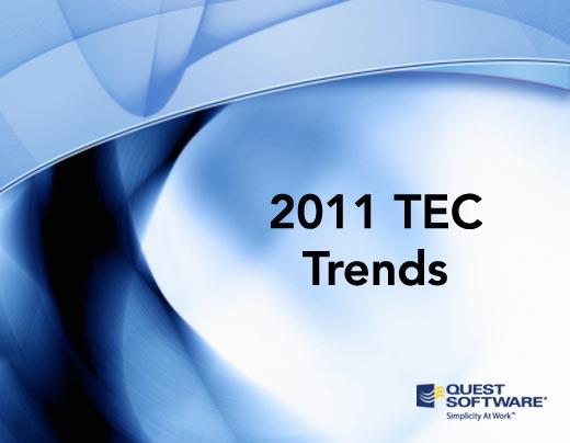 10 TEC Predictions for 2011 - slide 1