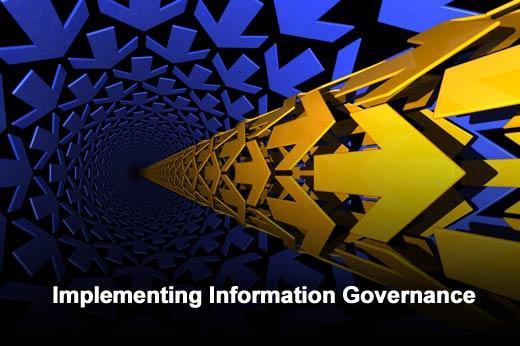 How to Implement Information Governance Across the Enterprise - slide 1