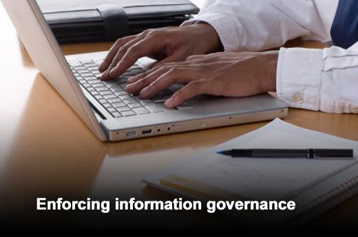 How to Implement Information Governance Across the Enterprise - slide 5