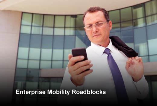 Five Barriers for Enterprise Mobility - slide 1