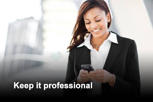 Business Etiquette: Professional Networking Sites, Including LinkedIn - slide 11
