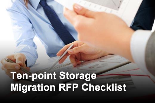 Ten-point RFP Checklist for Enterprise Storage Technology Refresh Initiatives - slide 1