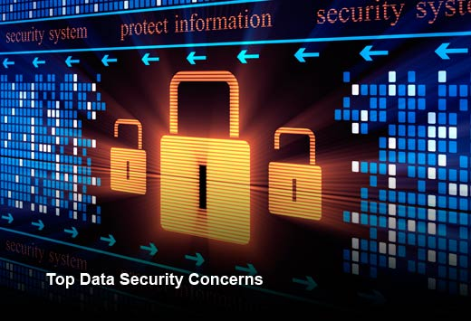 Study Pinpoints IT Security's Top Data Security Concerns - slide 1