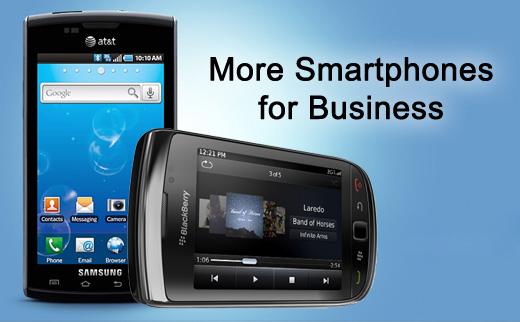 More Smartphones that Work for Business - slide 1