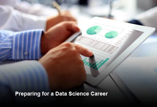 How to Start Your Job Search in Data Science - slide 1