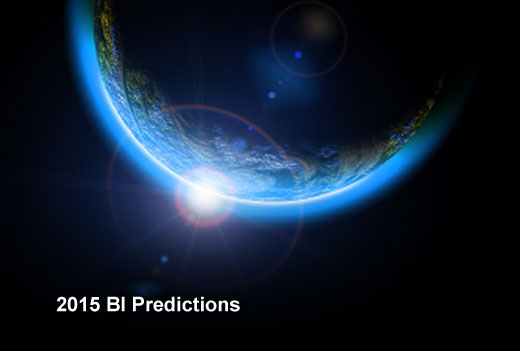 Looking Ahead at the 2015 Business Intelligence Landscape - slide 1