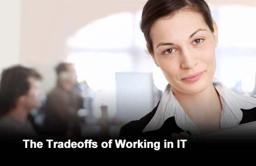 Survey Finds IT Pros Proud of Career Despite Tradeoffs - slide 1