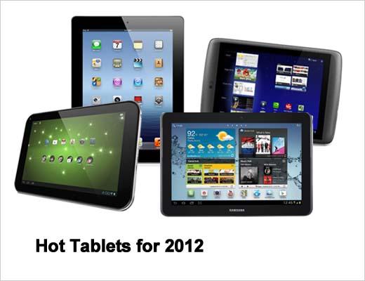 2012's Hottest New Tablets - slide 1