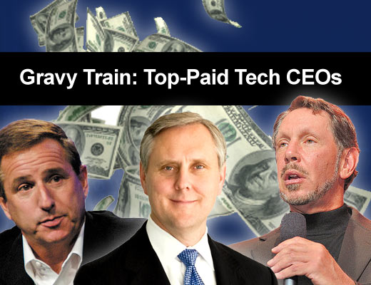 Top 10 Well-Compensated Execs of 09 - slide 1