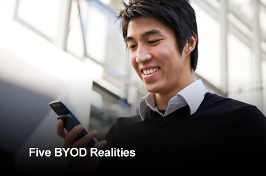Eliminating the CIOs' BYOD Blind Spot - slide 1