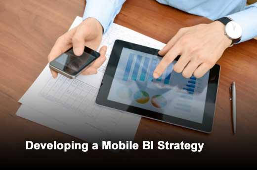 Nine Considerations for Enterprises Establishing a Mobile BI Strategy - slide 1