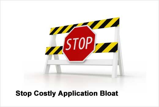 Application Bloat Afflicts the Enterprise - slide 1