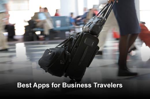 Five Best Apps for Business Travelers - slide 1