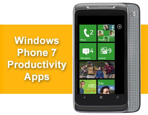 15 Hot Windows Phone 7 Productivity Apps - slide 1