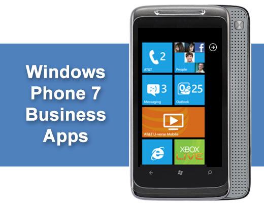 10 Hot Windows Phone 7 Business Apps - slide 1
