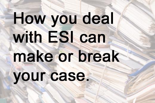 Six Keys to E-Discovery Compliance - slide 3