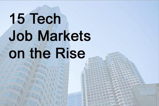 15 Hot IT Job Markets - slide 1