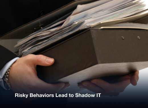 How Risky Behaviors Hurt Shadow IT Security - slide 2