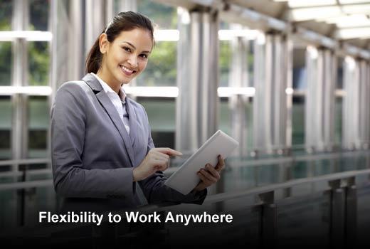 Six Benefits of Hosted Desktop for Remote Workers - slide 2