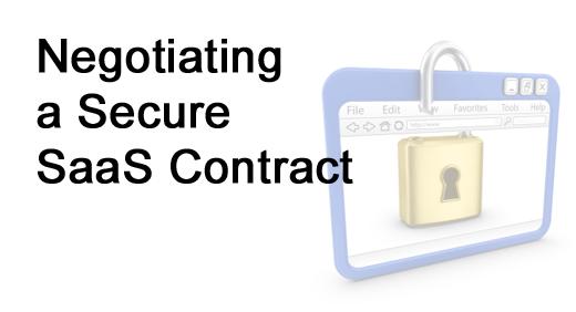 Checklist: Make Sure Your SaaS Vendor Is Secure - slide 1