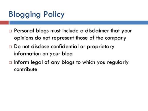 Five Best Practices on Social Media Use - slide 3