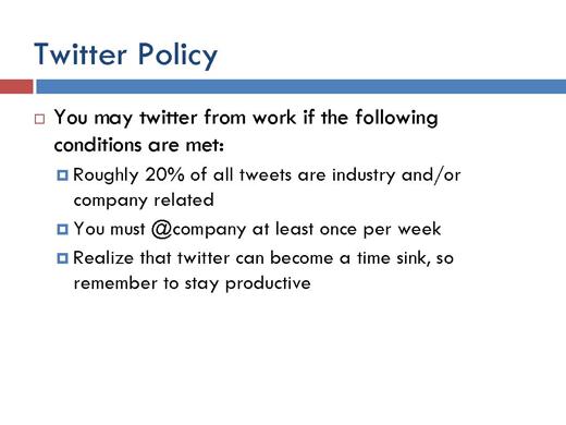 Five Best Practices on Social Media Use - slide 4