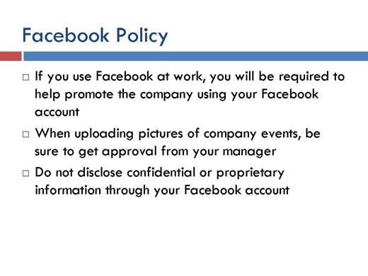 Five Best Practices on Social Media Use - slide 5