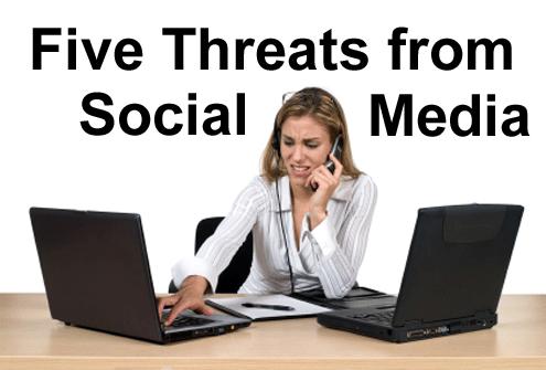 The Corporate Risks of Social Media - slide 1