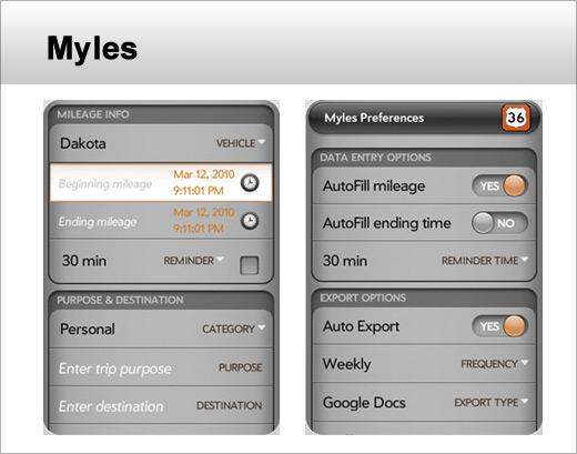 Seven Business & Financial Apps for webOS - slide 5