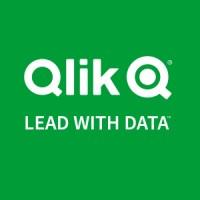 Qlik business intelligence software logo.