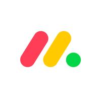 monday.com project management logo.